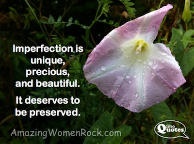 Imperfection is unique